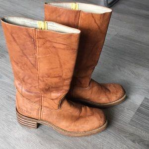 Durango leather boots 9